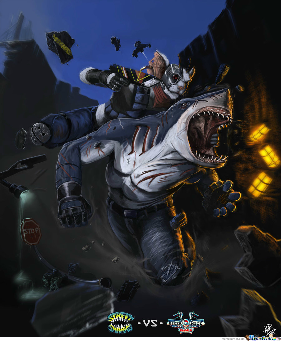 Street Sharks Vs Biker Mice From Mars,because Fu*k That's Why