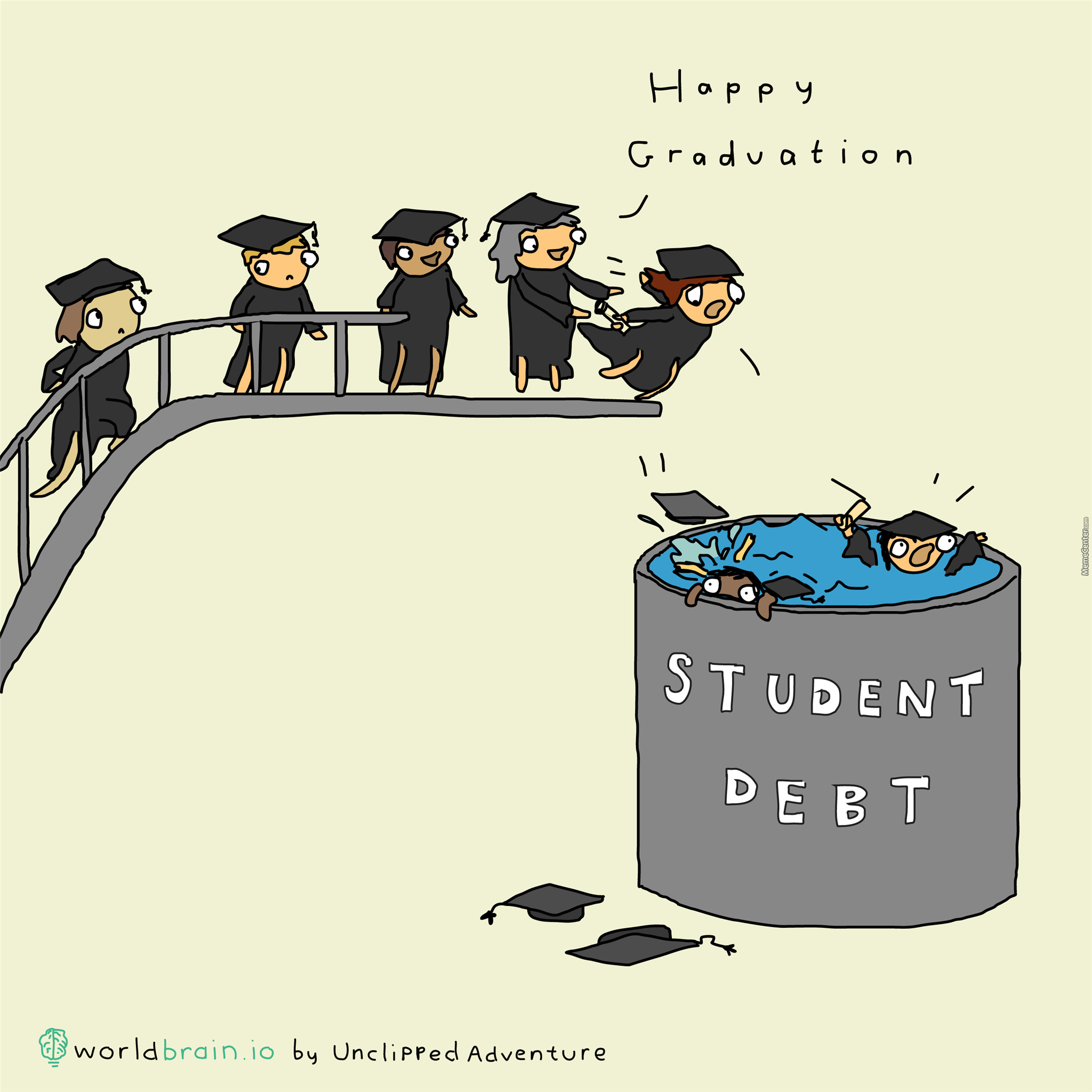 Student Debt -- The Gift That Keeps On Taking.