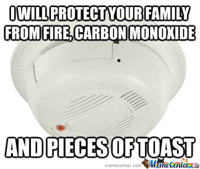 Stupid Smoke Alarm By Admiralmaggot Meme Center