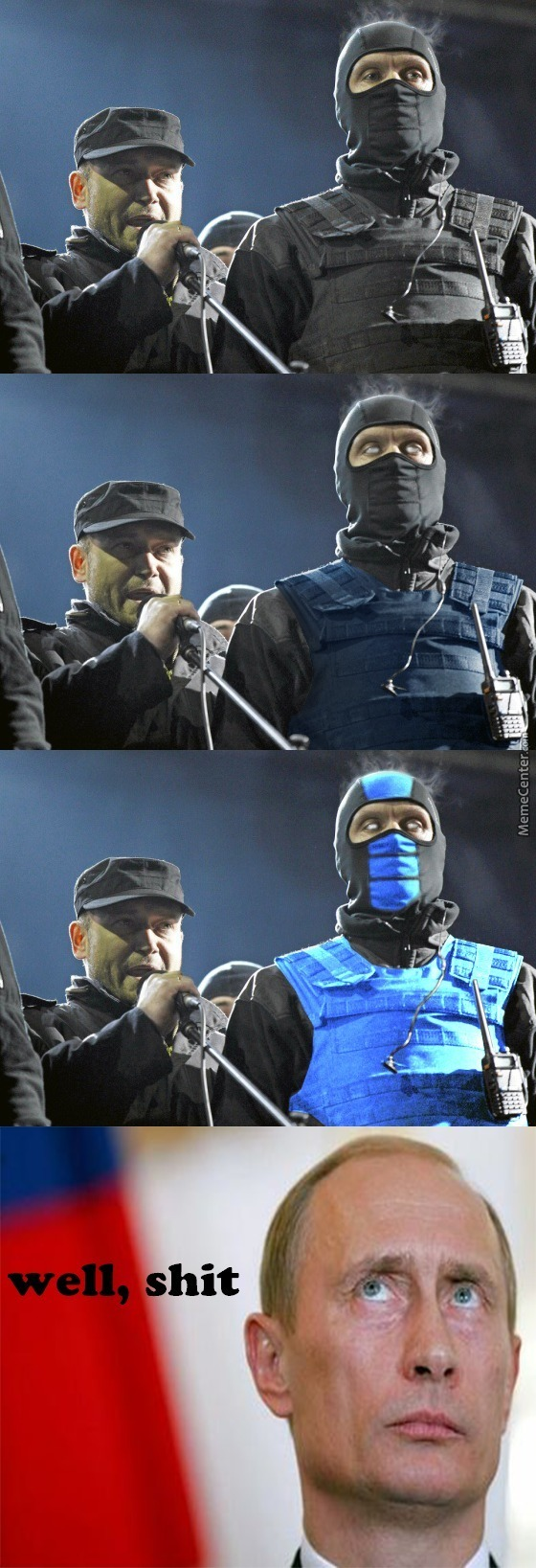 Sub Zero Have Been Summoned To Fight For Ukraine