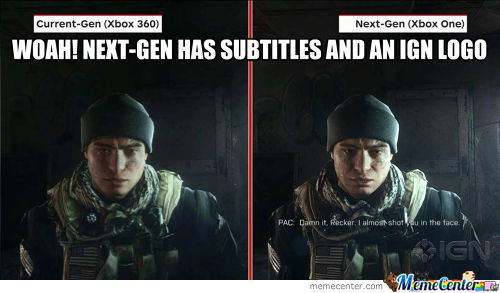 Subtitles! Now That's Totally Next-Gen