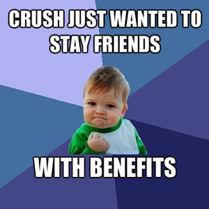 Successful friends with benefits