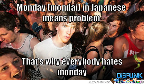 Sudden Clarity Clarence About Monday