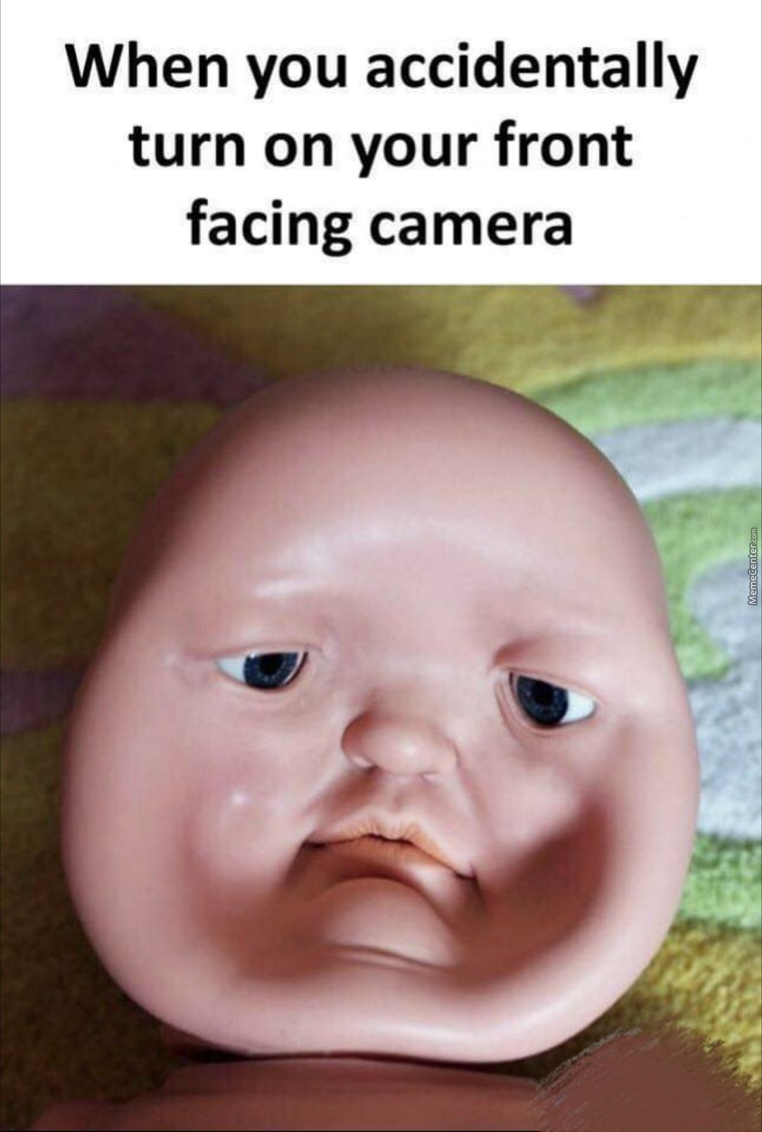 Suddenly Faced Front Camera