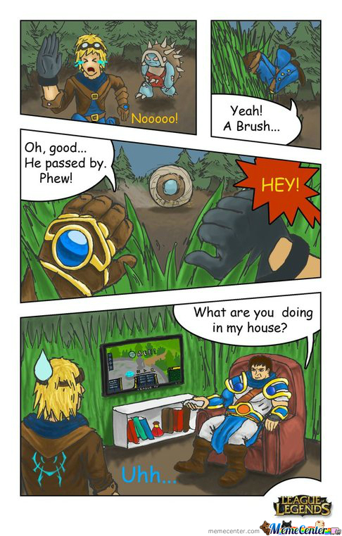 Sundaymorninglolz #7 Garen's House