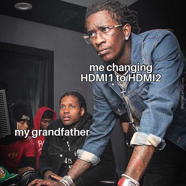 Sup Grandpa,the Computer Lord Is Here