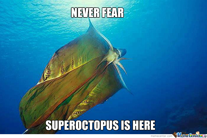 Super-Octopus To The Rescue