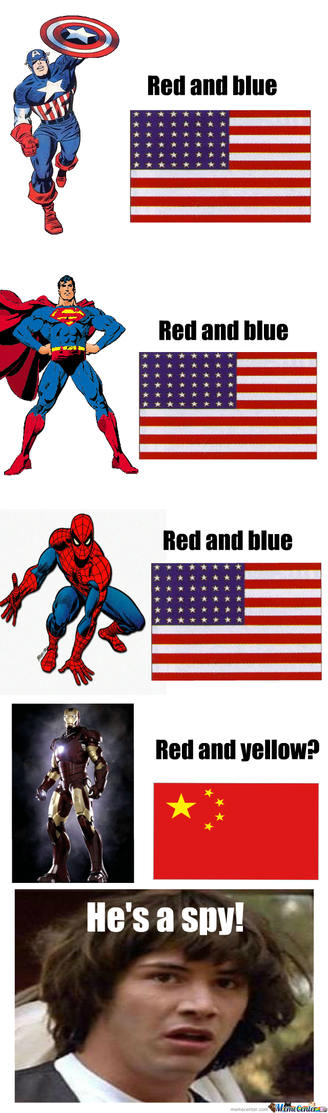 Superheroes These Days...