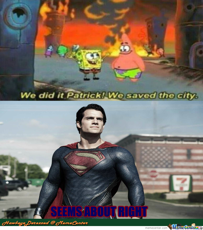 superman approves_o_2285253 superman approves by hawkeyederezzed meme center