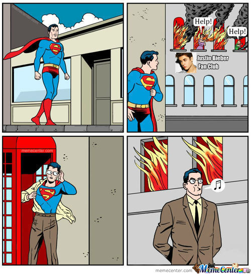 Superman Has Taste In Music