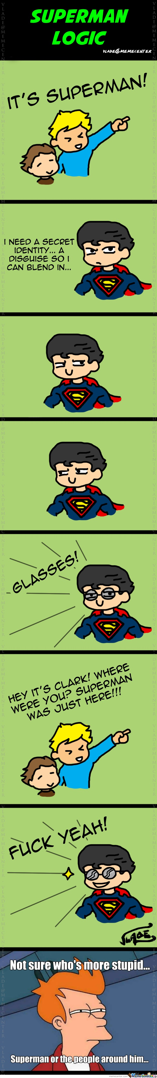 Superman Logic