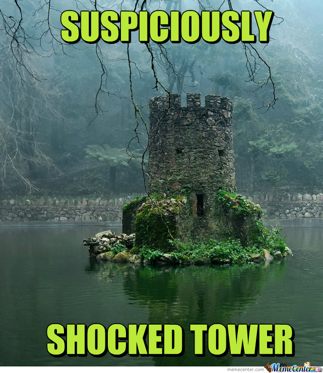 Suspiciously Shocked Tower