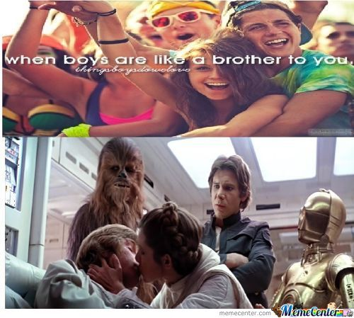 Sw - When Boys Are Like A Brother To You...