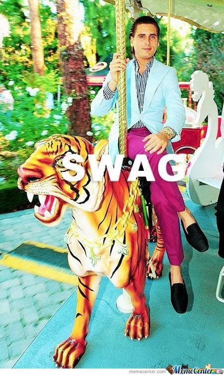 Swag Level: Scott Disick…