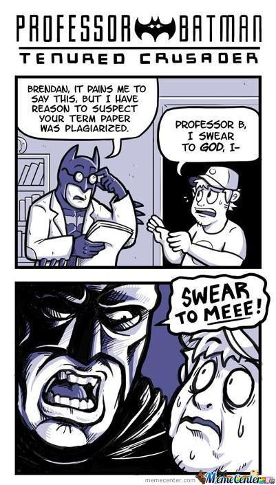 Swear To Batman