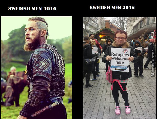 Sweden Then >>>> Swedistan Now