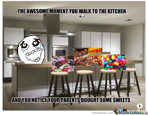 Sweets In The Kitchen