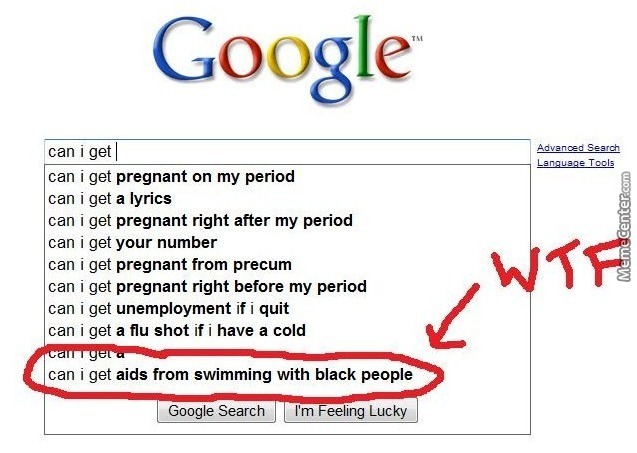 Google black people
