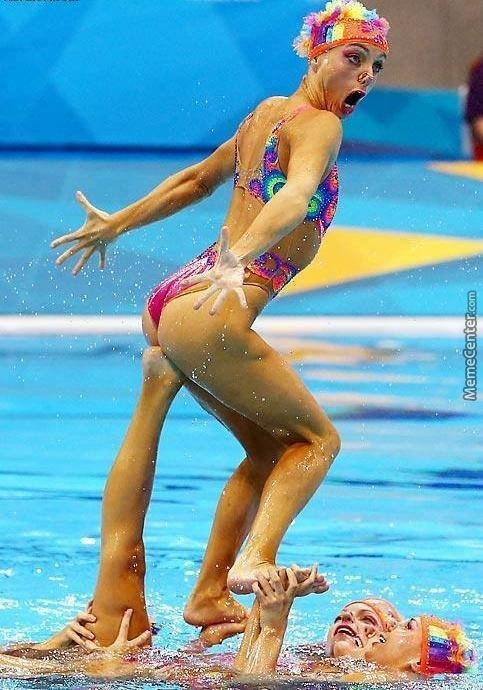 Synchronized Swimming Is So Majestic