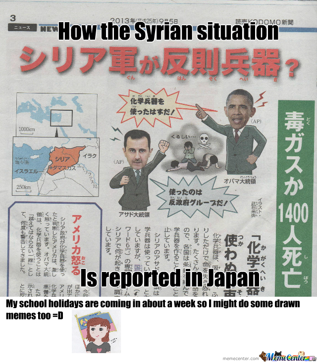 Syria In Japan