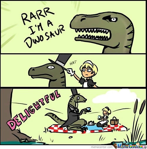 T-Rex Like A Sir