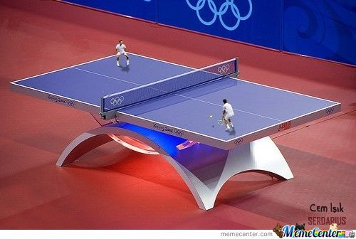 Table Tennis Literally