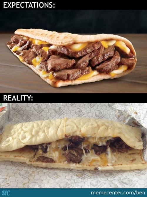 Taco Bell's Triple Steak Stack: Ad Vs Reality