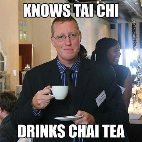 Tai Chi And Chai Tea