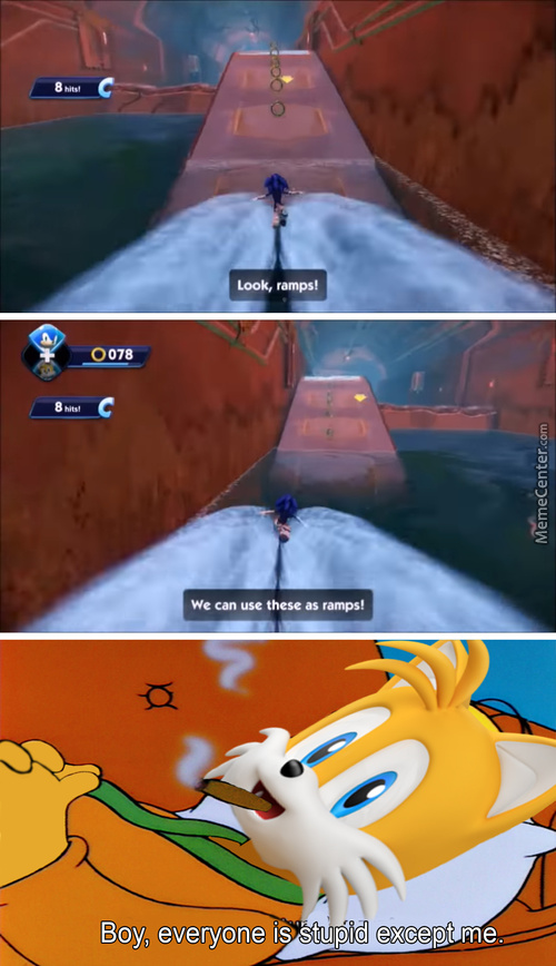 Tails Gives Us The Best Life Hack Ever