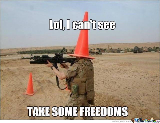 Take Some Blind Freedoms