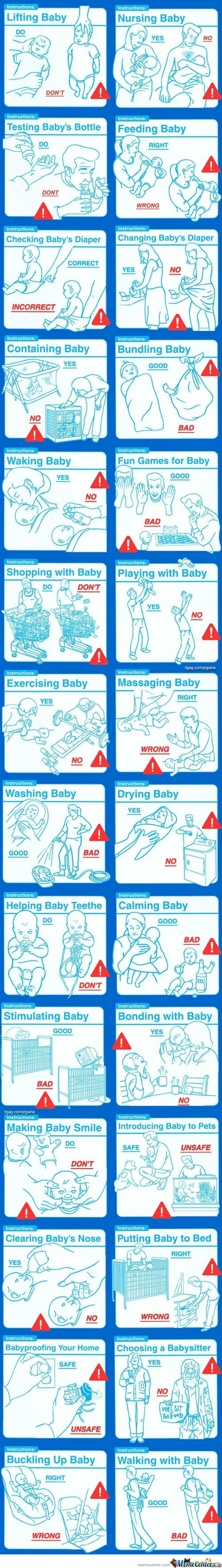 Taking Care Of Babies Wrongs And Rights