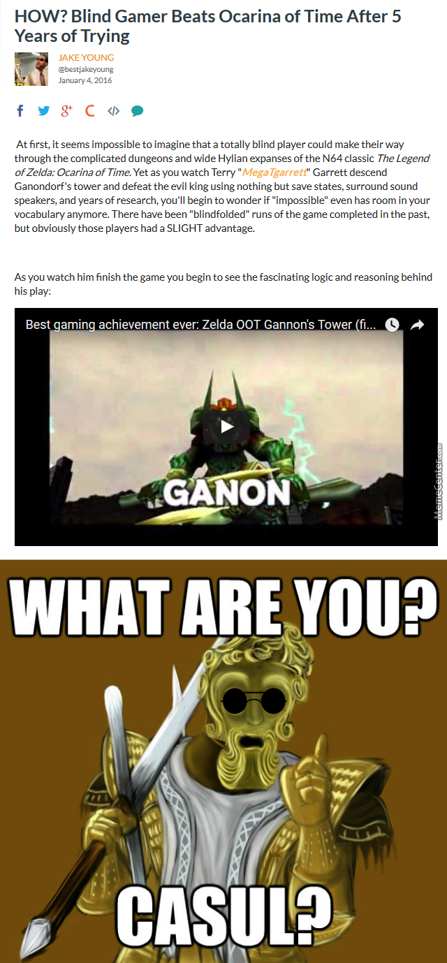 taking skill to a whole nother level_o_6351757 legend of zelda ocarina of time memes best collection of funny