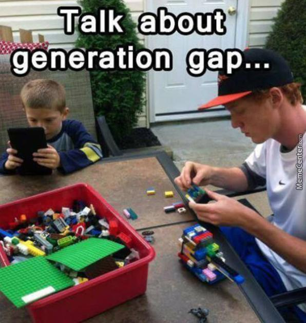 Talk About Generation Gap
