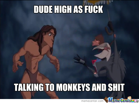 Tarzan Is High
