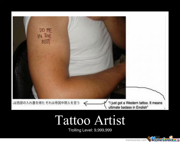 Tattoo Fail Memes Best Collection Of Funny Tattoo Fail Pictures
