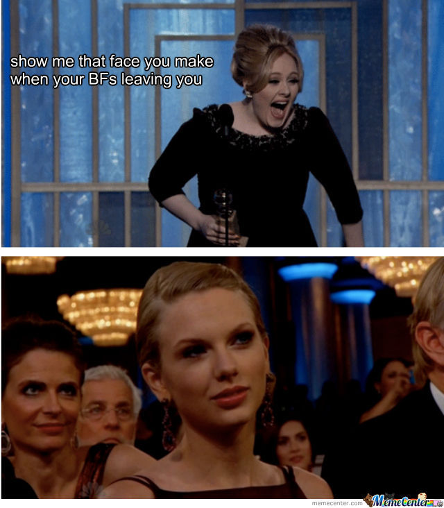 Taylor Swift Owned By Adele