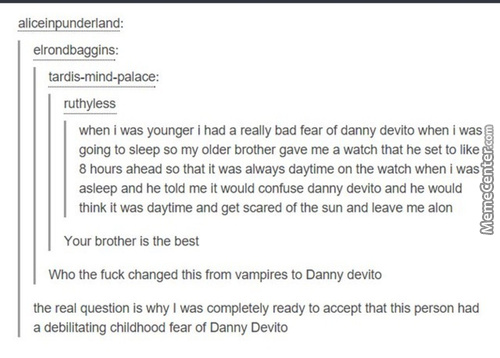 Tbh Danny Devito Would Be An Awesome Freddy Krueger