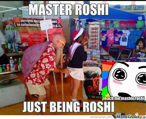 Teach Me The Way Of Roshi