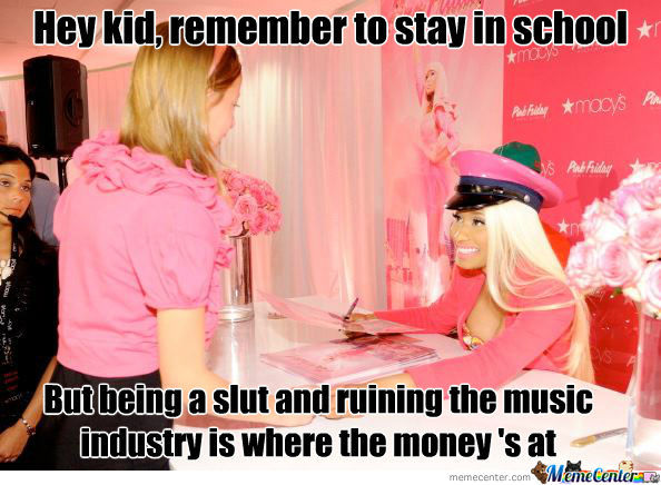 Teacher Minaj