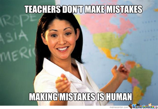 Teachers Are Not Human