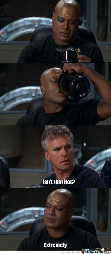 Teal'c Known For Not Giving A F**k