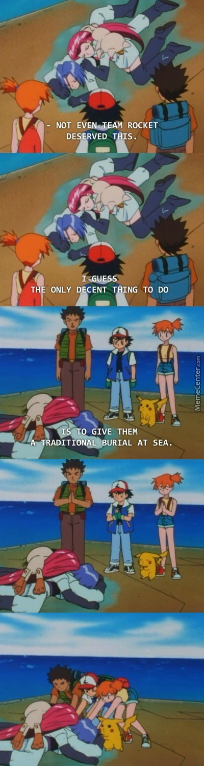 Team Rocket Drowning Off Again