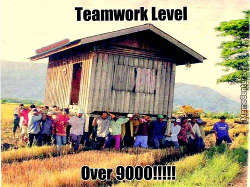 Teamwork Makes A Huge Difference!