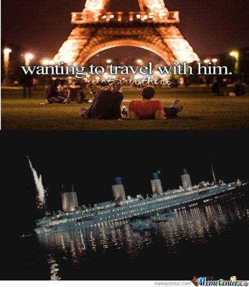 Wanting to travel with him