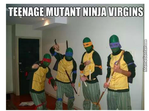 Teenage Mutant Ninja Virgins