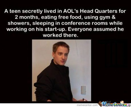 Teenager Lived In Aol