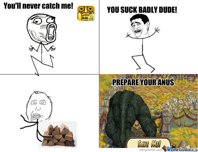 Temple Run 2 And The F*cking Logs