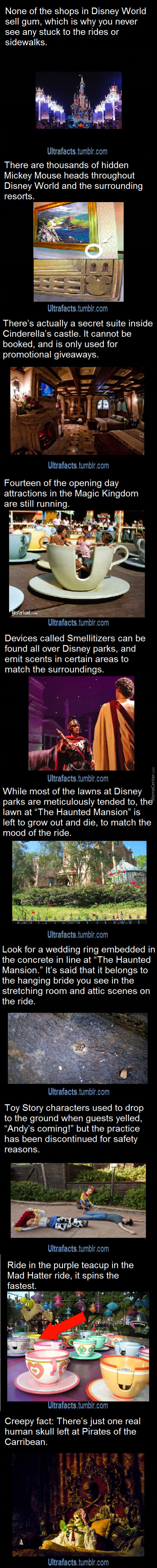 Ten Disney Ultrafacts.