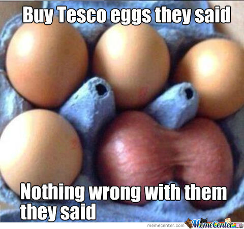 Tesco Eggs!