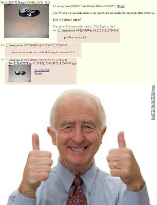 Tfw Saved By 4Chan